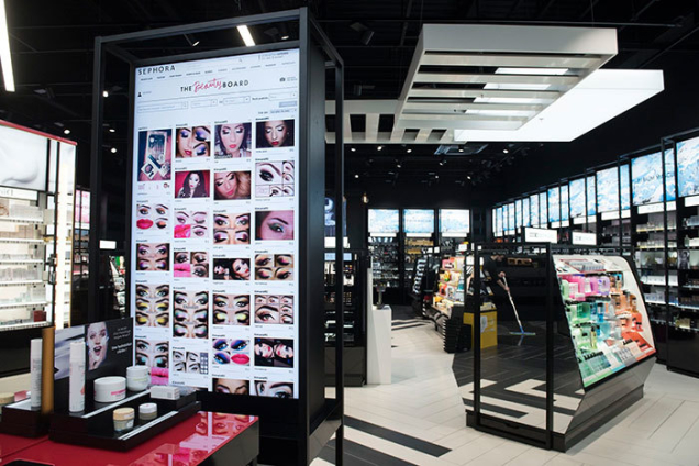 sephora retail observation The makeup retailer's large-scale stores are still thriving, but a new intimate location in boston if you're out at a shopping center, you'll likely spot one of the more than 400 sephora locations around.