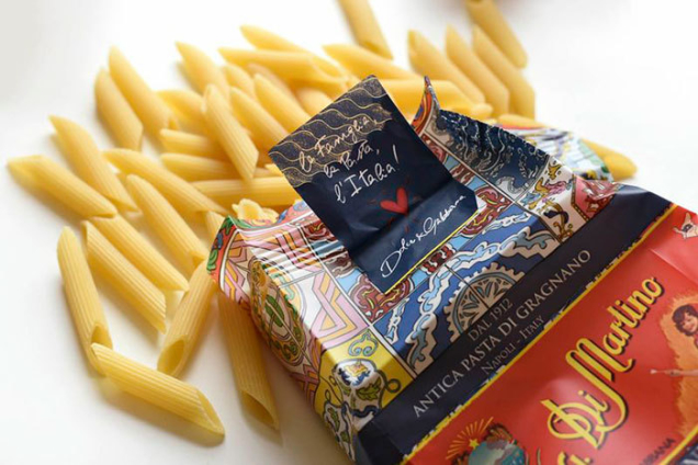 Dolce&Gabbana and Pasta Di Martino