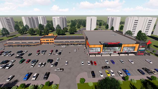 В октябре 2019 года В Мозыре откроется торгово-развлекательный центр Сatapulta