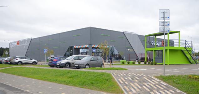 В районе «Новая Боровая» открылся первый торговый центр с крупным супермаркетом «Соседи»