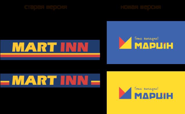 Сеть магазинов Mart Inn переименовалась в «Марцiн»