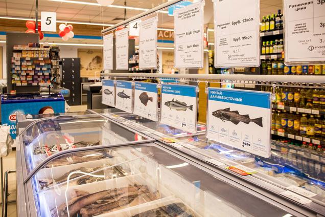 «Санта» открыла в центре Минска супермаркет «Рублёвский» в новом формате в здании «Центра моды» на проспекте Победителей, 1