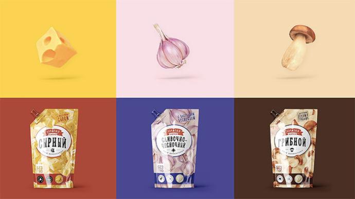 Минский маргариновый завод провел редизайн соусов «Золотая капля»