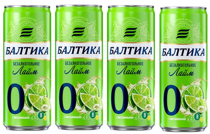 Пивоваренная компания «Аливария» представила новый вкус в безалкогольной линейке — «Балтика 0 Лайм».