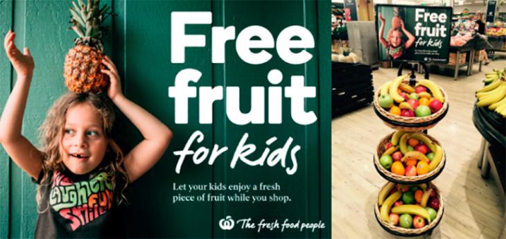 Австралийская сеть Woolworths провалила акцию «бесплатные фрукты для детей»
